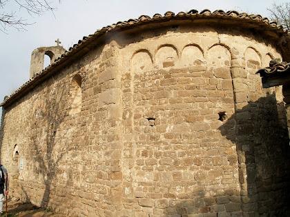 L'absis de Sant Genís Sadevesa