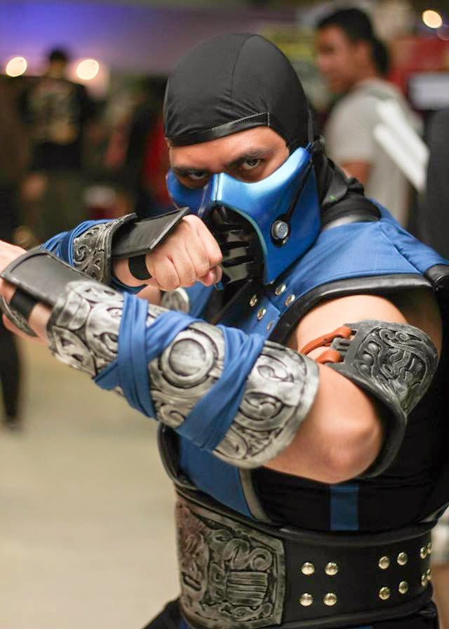 Proud 2 be geek my sub zero cosplay debut toycon 2014 my sub zero cosplay debut toycon 2014 solutioingenieria Image collections