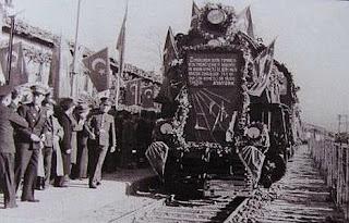 ilk demiryolu tcdd cumhuriyet