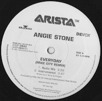 Angie Stone - Everyday (Mike City Remix) VLS 1997