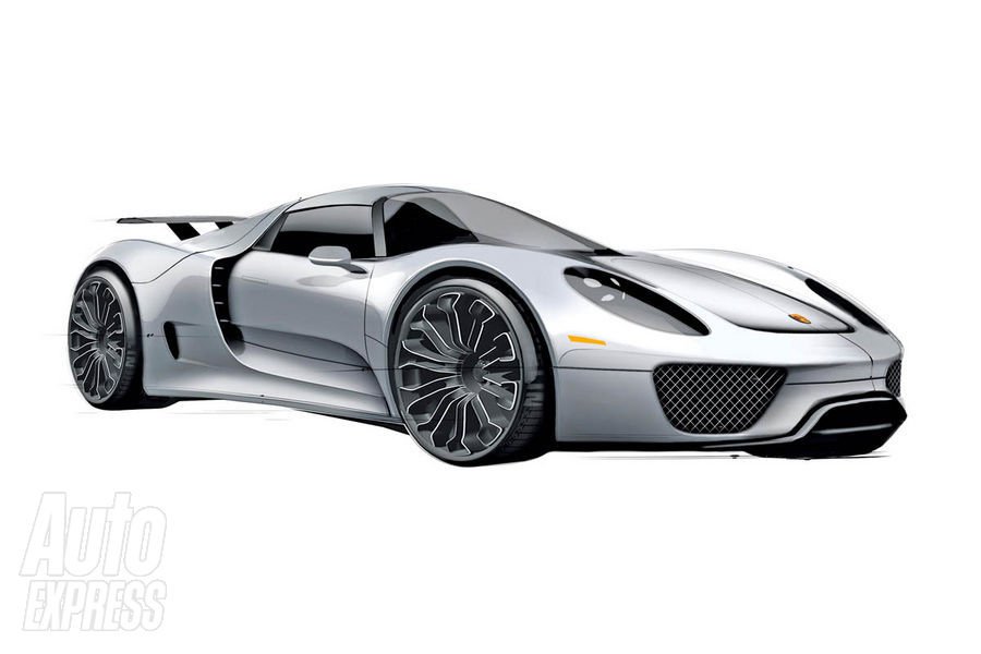 porsche 918 spyder supercar hybrid revealed new car used car reviews picture. Black Bedroom Furniture Sets. Home Design Ideas