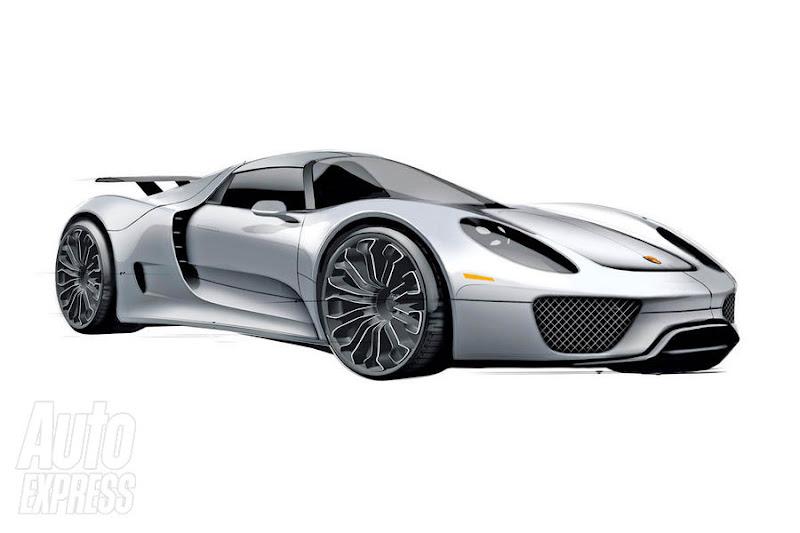 Porsche  918 Spyder Supercar Hybrid