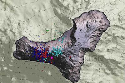 Actividad sísmica isla El Hierro 26 de Junio 2012