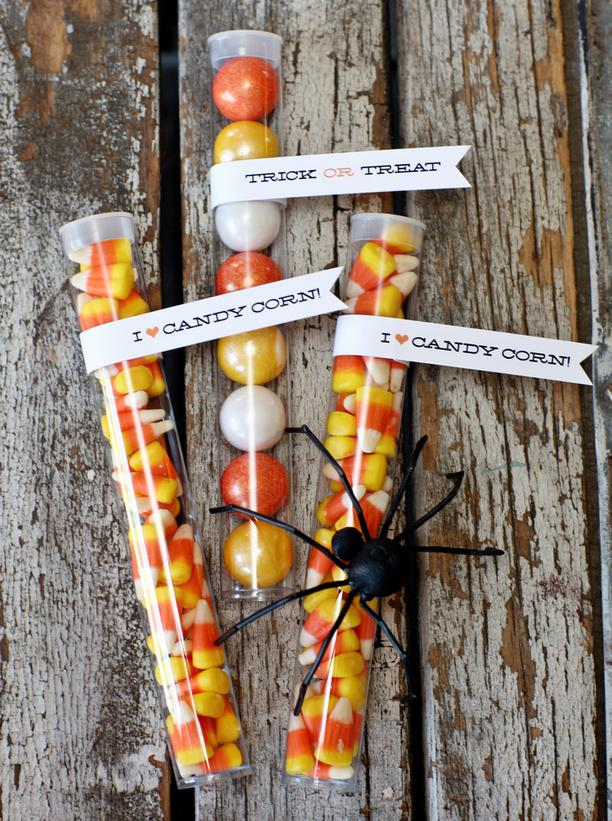 Modern furniture halloween party favor and treat bag 2012 for Halloween party favor ideas