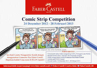 Faber castell comic strip competition