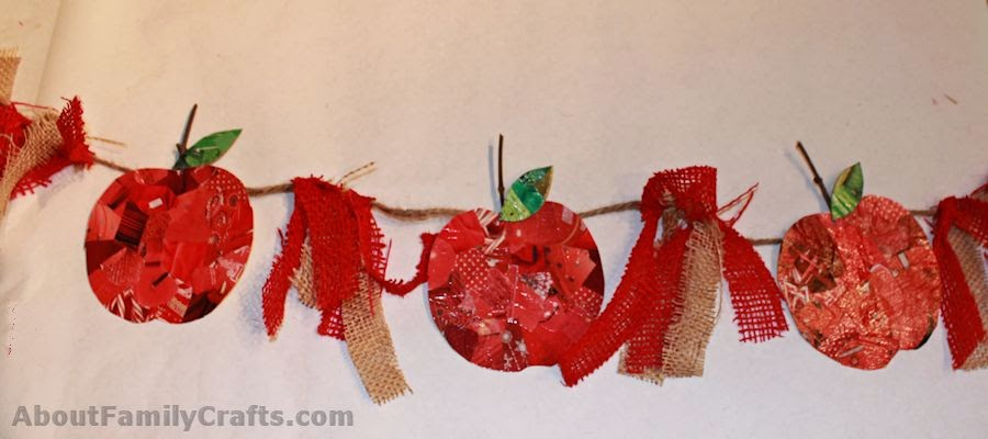 http://aboutfamilycrafts.com/craft-challenge-apple-bunting/