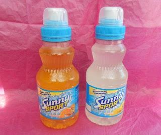 Sunny Sport naranja y Sunny Sport limón