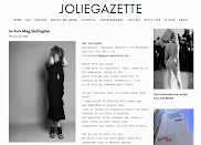 Meg Featured in Joliegazette!