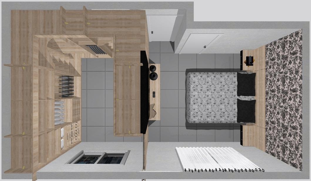Quarto com closet Ideias para Casa Pinterest Quartos, Closet e ...
