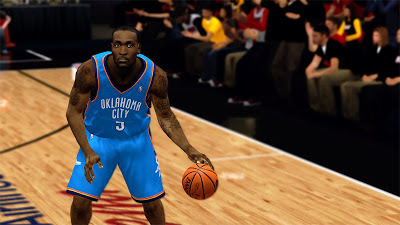 NBA 2K13 Kendrick Perkins Cyberface NBA2K Patch