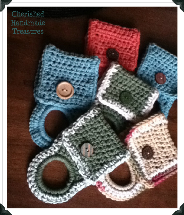 Crochet Patterns For Kitchen Towel Holders : Cherished Handmade Treasures