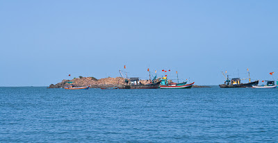 Snorkelling point off Tarkarli beach