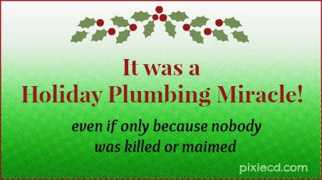 The Holiday Plumbing Miracle