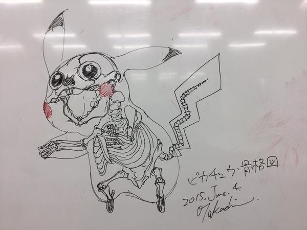 Struktur Tulang Pikachu