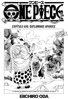 One Piece 698 Mangá Português Leitura Online Agaleradosanimes.net