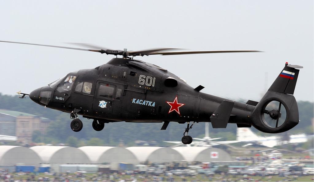 Ka 60 Kasatka Military Transport Helicopter Russian