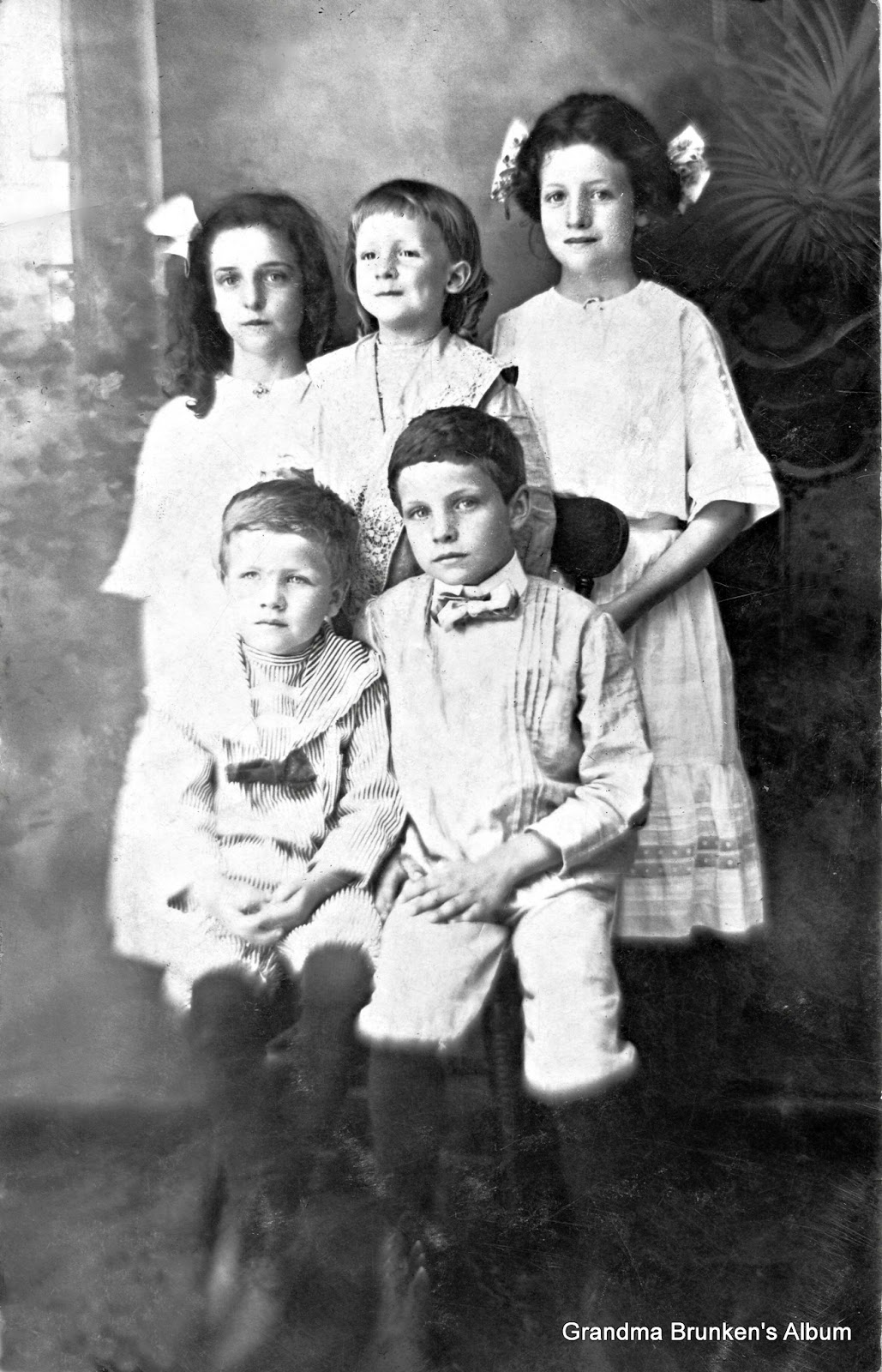 Three Girls and Two Boys