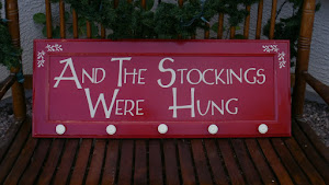 Stocking Holder Sign  *SOLD*