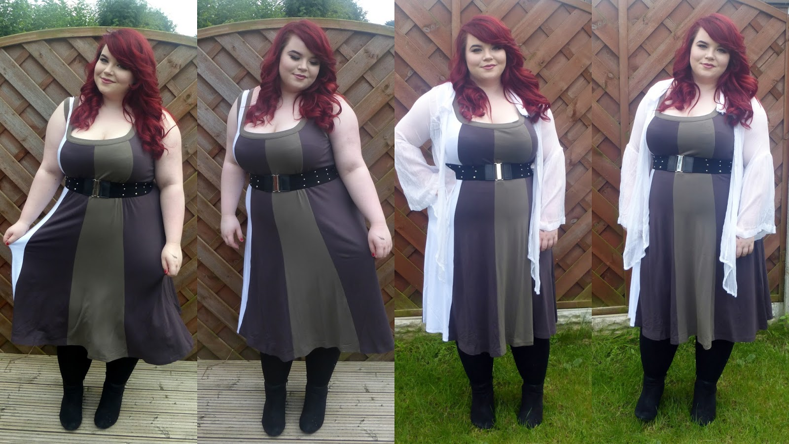 EuroStyle+ Rimini Colour Block Sleeveless dress, Rimini, Georgina Grogan, Plus Size blogger, Sheffield Blogger