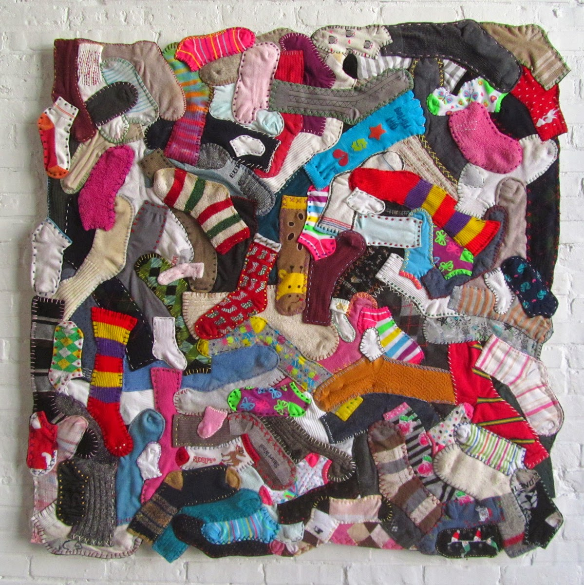 quilted sock pattern selvage sock quilts