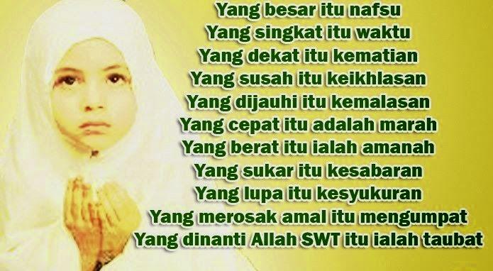 Syair Mutiara Islam Tentang Kehidupan Dunia Sdn 1 Parakan Salam