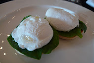 Eggs Florentine in Sri Lanka Amangalla