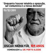 Parabéns Oscar Niemeyer