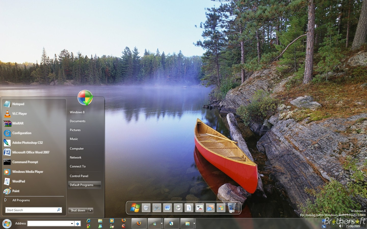 WINDOWS 8 Screenshots & New Features