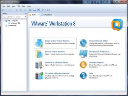 VMWare Workstation 8.0.1 screen