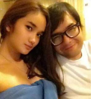 foto hot febby marcelia terbaru 2013 dengan kekasihnya Revand T Narya