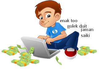 cara mencari uang melalui blog