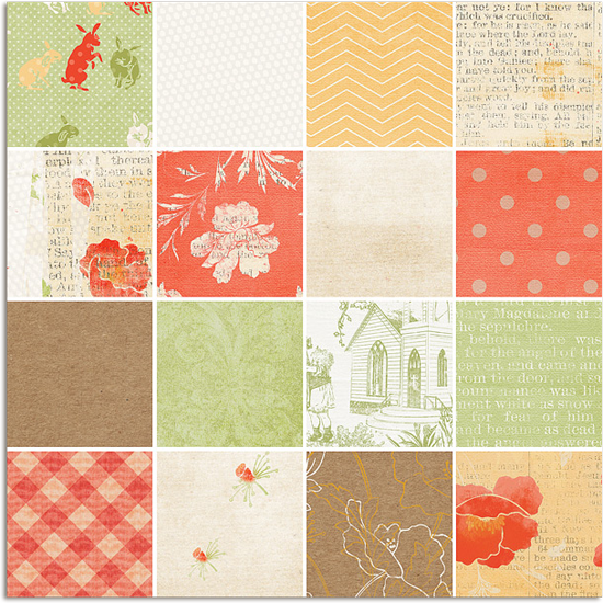 Christian Easter Digital Scrapbooking Papers