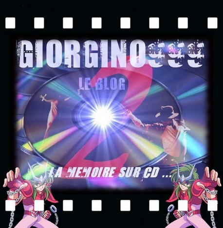 Giorgino999 le blog 2, la mémoire sur CD
