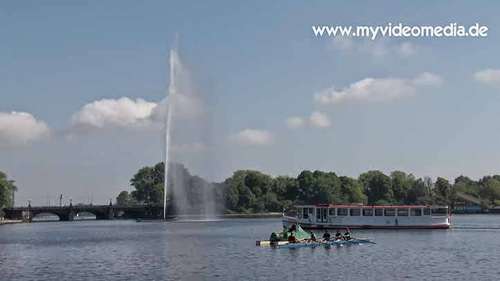 Inner Alster Lake - Hamburg