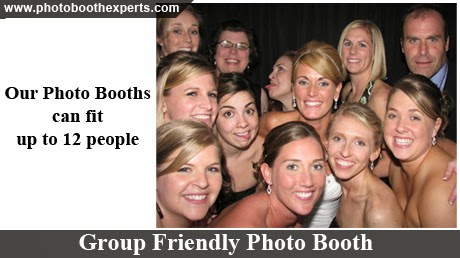 Group Friendly Photo Booth