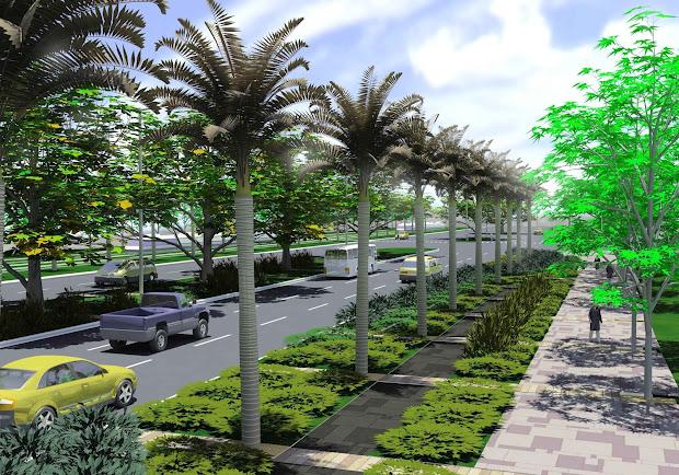 3d art rendering landscape architecture