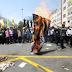 """Feriado muçulmano é marcado por gritos de """"morte a Israel"""""""