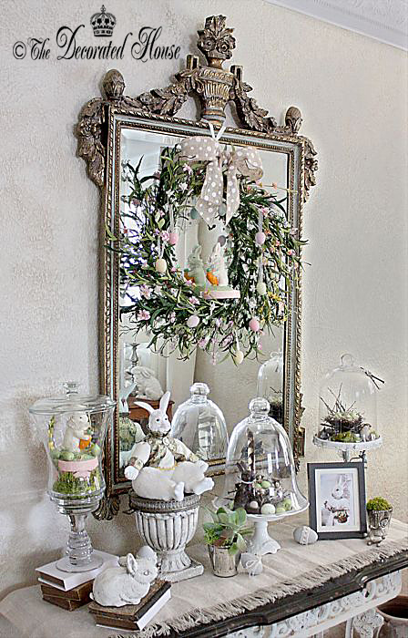 The Decorated House. Easter Decorating with Vintage and New