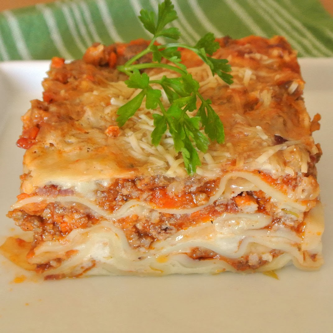 Lasagne Bolognese from scratch