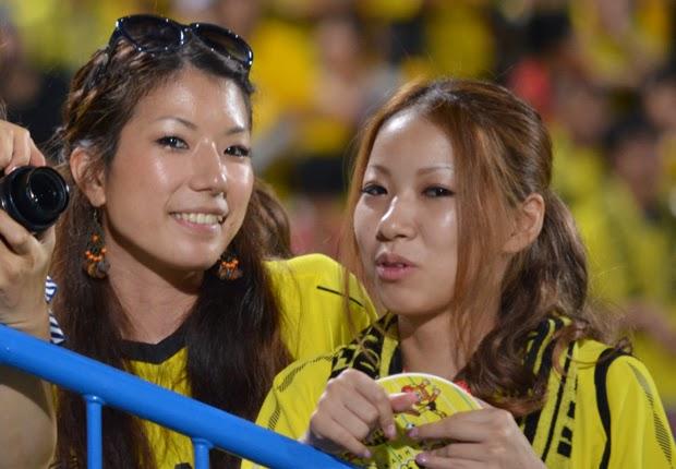 Suporter Wanita J.League - Kashiwa Reysol