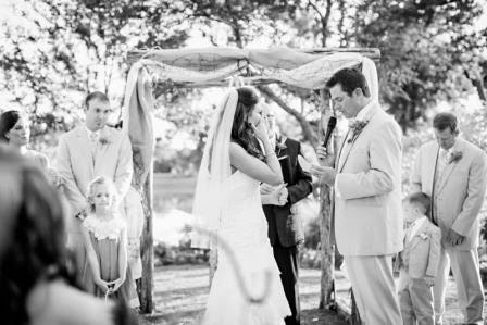 Ryan and Leslie, Vows, McGowan Images, Texas Ranch Wedding
