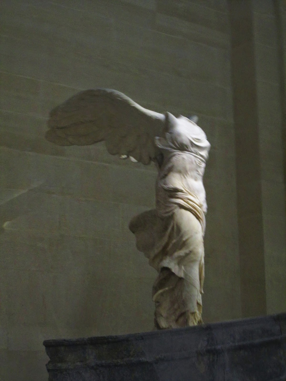 The winged victory of samothrace art history blogger during my visit i took several photos to post on my blog but it is hard to capture the true beauty and monumentality of this work in a photograph biocorpaavc