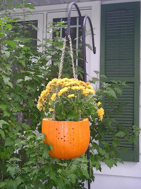 Pumpkin planter Jenniferrizzo.com