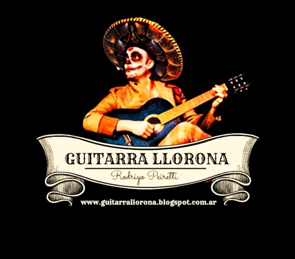 Página Facebook de Guitarra Llorona