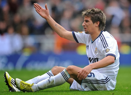 Fabio Coentrao Real Madrid Transfer Manchester United 2014