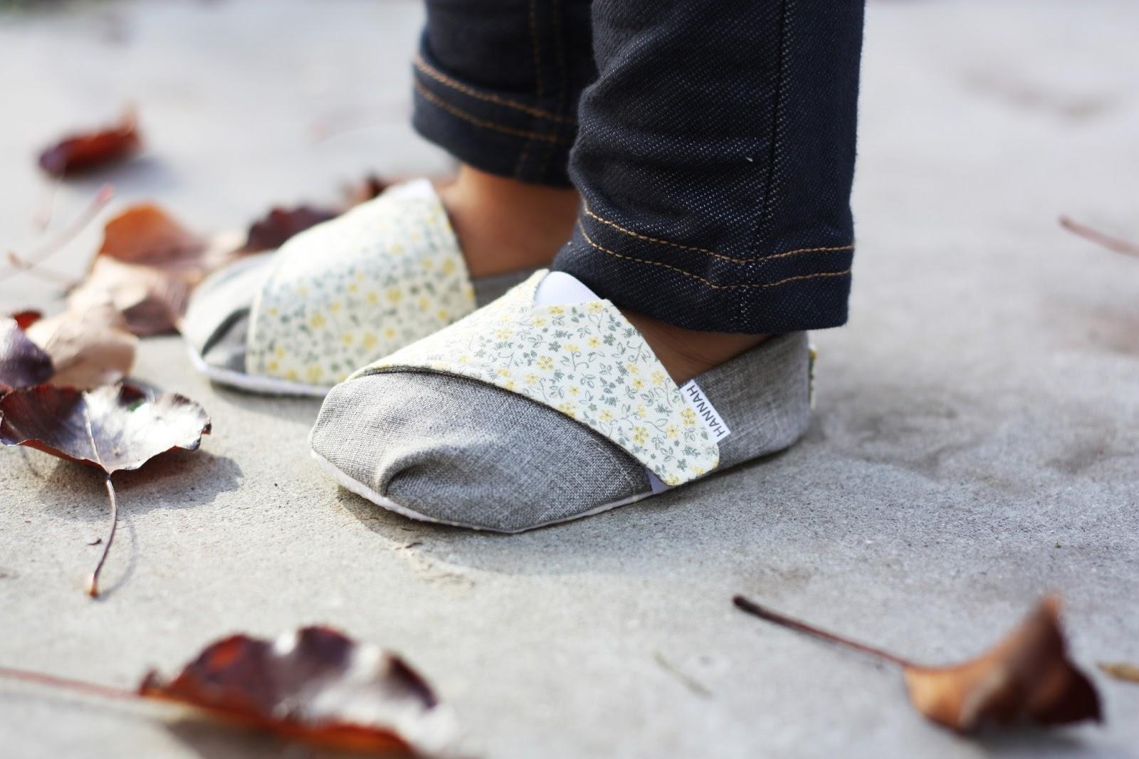 Cloth Baby Shoe Pattern