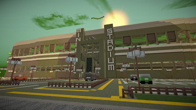 Mega Building  - Minecraft Metropolis