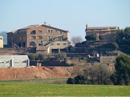 El mas Coll de Sant Ponç i l'ermita de Sant Ponç