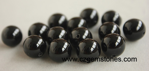 Black Beads cubic zirconia China