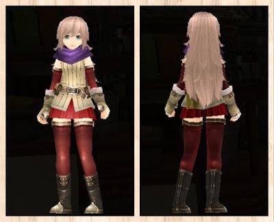 正式版冒険者の服 赤色2